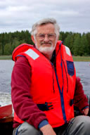 Man wearing lifejacket